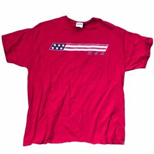 Y2K Vintage USA Graphic T-Shirt Size Large